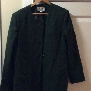 Vintage green suit jacket.